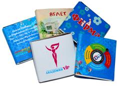 Фирменные шоколадки с Вашим логотипом и рекламной информацией